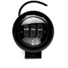 Фара противотуманная 3xLED (10-30 V) 30W 110x130x55mm D=80mm, черный